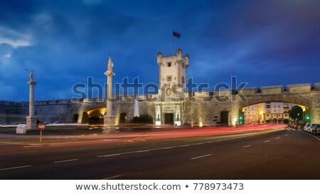 Espanha · profundo · blue · sky · região · sul - foto stock © benkrut