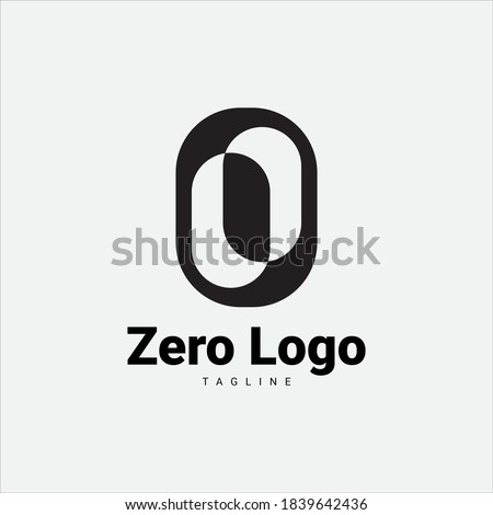 green black letter o or number 0 zero logo icon Stock photo © blaskorizov
