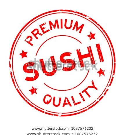 Friss hal magas minőség étterem menü Stock fotó © robuart
