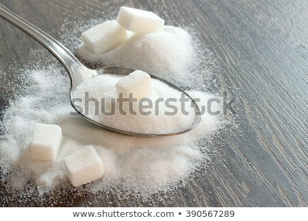 Lump and granulated refined sugar Stock photo © Alex9500