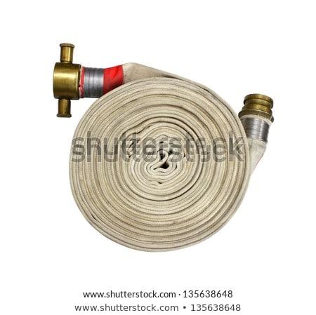old brass fire hose Stock photo © mayboro
