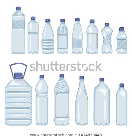 refreshment drink soda juice plastic bottle vector Stock photo © vector1st