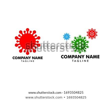 Set of coronavirus, ncov, covid - 19 logos. Warning signs. Virus Stock photo © ExpressVectors