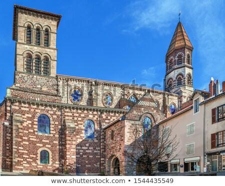 Bazilika szent Franciaország stílus égbolt épület Stock fotó © borisb17