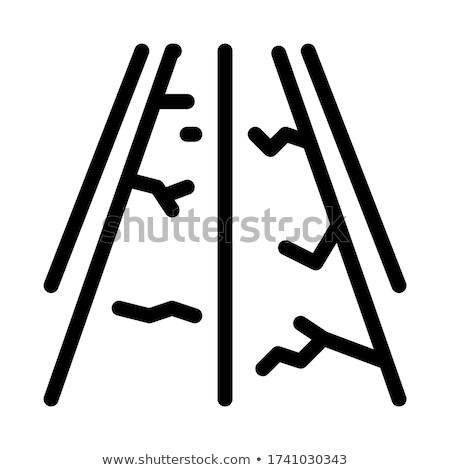 Fout weg icon vector schets illustratie Stockfoto © pikepicture