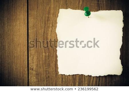 黄色 レトロな 木材 木製 長方形 ストックフォト © Ansonstock