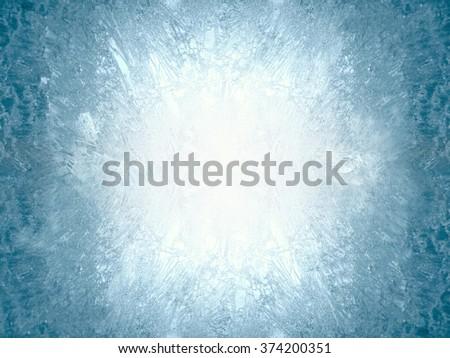 Hoarfrost texture Stock photo © AGorohov