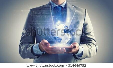 Сток-фото: бизнесмен · мира · бизнеса · служба · воды