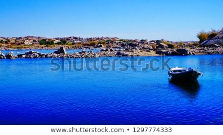 sunny Nile coast near Aswan Stock photo © prill
