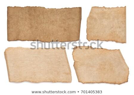 Pack vintage note noir texture Photo stock © HectorSnchz