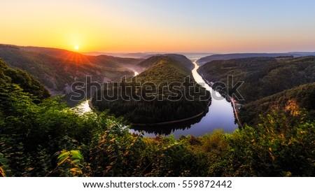 river Moselle Stock photo © prill