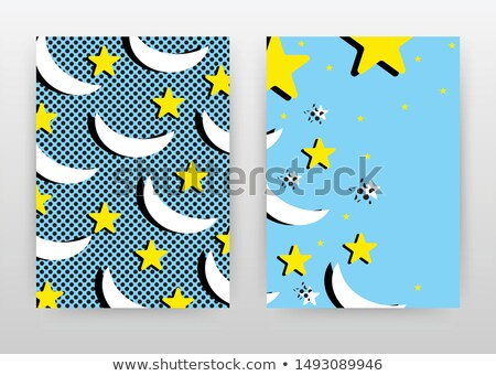 Blue Folder with Yellow Star. on White. Stock photo © tashatuvango