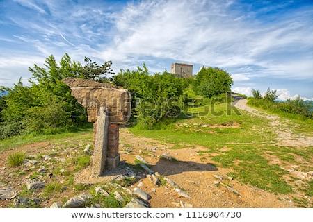 Puin Castle, Liguria, Italy Stock photo © Antonio-S