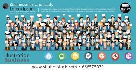 ビジネス · 女性 · ビジネス女性 · 眼鏡 · ポインティング · 指 - ストックフォト © Forgiss