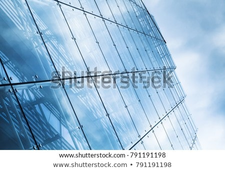 curtain wall sky stock photo © eldadcarin