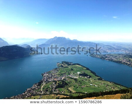 lake of four cantons Stock photo © Andriy-Solovyov