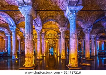 Bazilika víztartály Isztambul Törökország víz utazás Stock fotó © sailorr