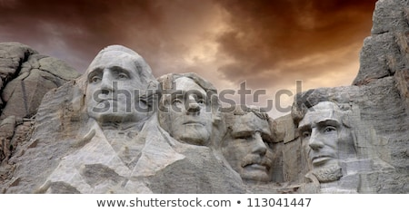 President Day in United States of America with colorful header s Stock photo © bharat