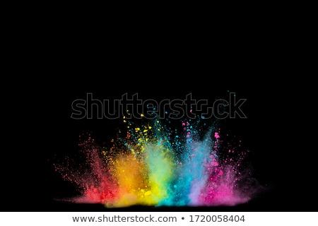 violet · satijn · detail · mooie · kleur · abstract - stockfoto © impresja26