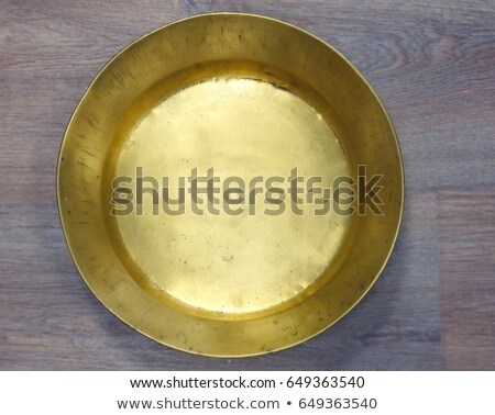 antique copper plate Stock photo © Sarkao