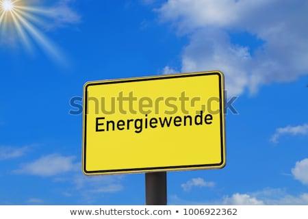 german energy transition Stock photo © flipfine