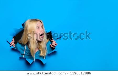 Surprised Model look Stock photo © tangducminh
