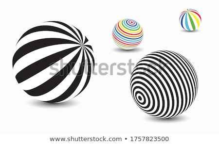 Three-dimensional visualization sphere Stock photo © cherezoff