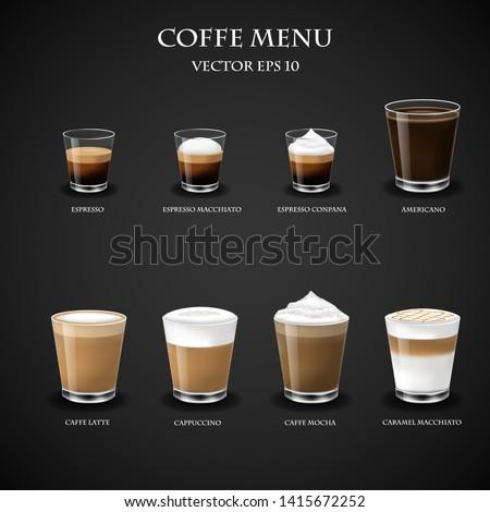 Hot shot of espresso macchiato  Stock photo © nalinratphi