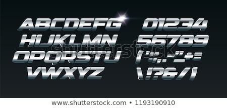 Metal Events Text Stock photo © bosphorus