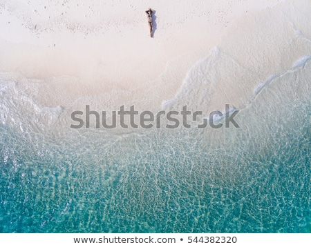 Landscape of summer beach sea view in Thailand Stock photo © happydancing