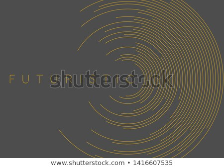 Sötét fekete vállalati vektor terv grafikus Stock fotó © saicle
