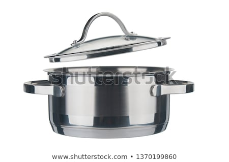 a metal  saucepan Stock photo © cynoclub