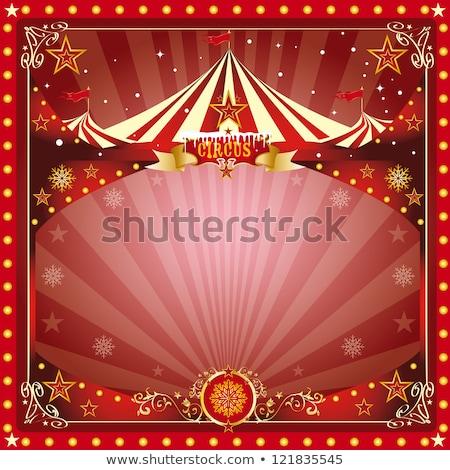 circus · teken · groep · groot · top · carnaval - stockfoto © tintin75