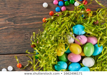 Easter Sweets Nest Cropped Stock photo © frannyanne
