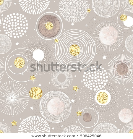 Seamless texture with rings. Abstract background Stock photo © fresh_5265954