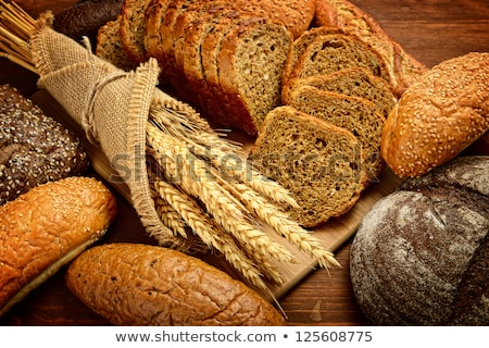 fresh bread food group Stock photo © dotshock