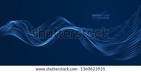 Abstract bokeh golven groene zwarte textuur Stockfoto © pakete