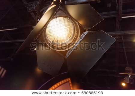 image of powerful spotlights on a stage stock photo © konradbak