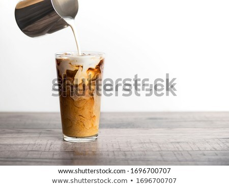 iced coffee with milk stock photo © grafvision