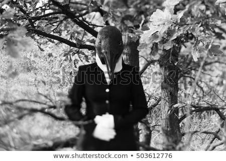 nő · orvos · ijesztő · orvosi · szerszámok · véres - stock fotó © artfotodima