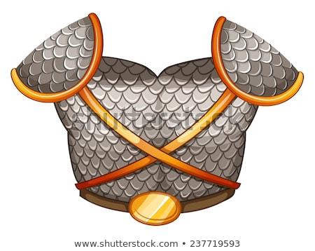 A viking's body shield Stock photo © colematt