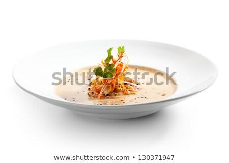 koktélparadicsom · petrezselyem · izolált · fehér · keret · zöld - stock fotó © furmanphoto