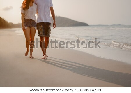 Retire Text On Sand Beach Stock photo © AndreyPopov