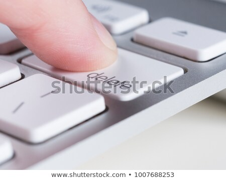 Delete button Stock photo © smoki