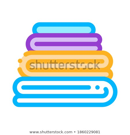 Laundry Service Washed Ironing Things Vector Icon Stock photo © pikepicture