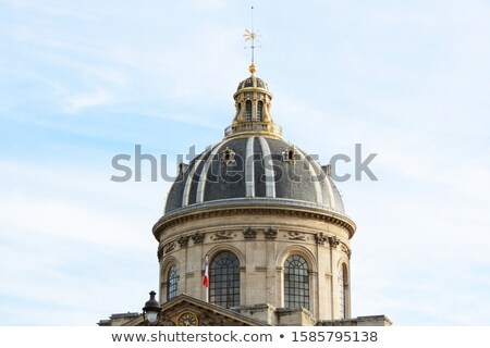 Ornate gilded dome of the French Institute in Paris  Stock photo © sarahdoow