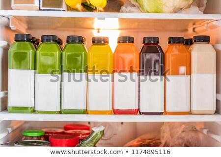 Hideg zöldség detoxikáló tisztít diéta diétázás Stock fotó © Maridav