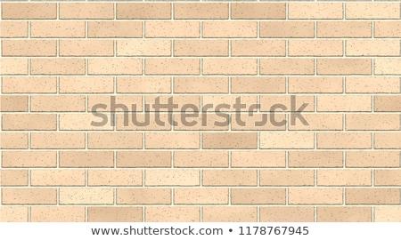 Téglafal keret fakeret textúra absztrakt terv Stock fotó © kup1984