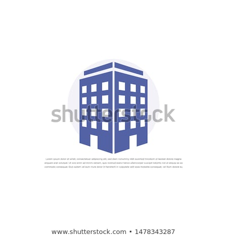 Building Solid Web Icons Stock photo © Anna_leni
