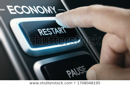 Disaster recovery. Restarting national economies after crisis. Stock photo © olivier_le_moal